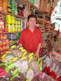 Chef Chai in Chinatown