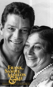Eddie Sherman and his mother, Bessie, who infamously had Marlon Brando change her kitchen garbage bag!