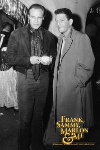 "Eddie Sherman and Marlon Brando on the set of Brando's movie, ""One-Eyed Jacks."""
